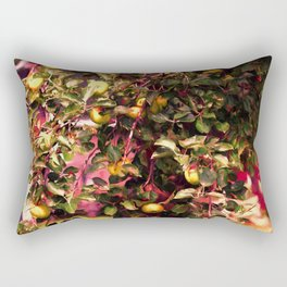 Johnny Appleseed Tree In Fall Rectangular Pillow