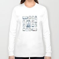 led zeppelin Long Sleeve T-shirts featuring Vintage Preservation by Paula Belle Flores