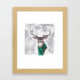 Mr. GQ Buck Framed Art Print