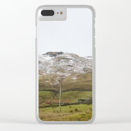 A small house in the Scottish Highlands Clear iPhone Case
