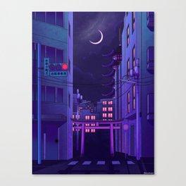 Tokyo Night Canvas Print