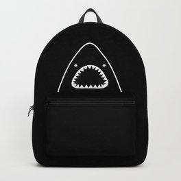 white shark Backpack