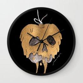 Poisoned Apple Wall Clock