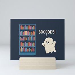 Booook Lover Mini Art Print