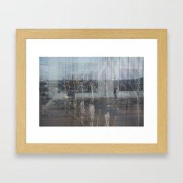 Paris reflex Framed Art Print