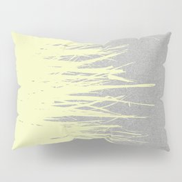 Concrete Fringe Yellow Pillow Sham