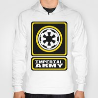 army Hoodies featuring Imperial Army by ubertwigg
