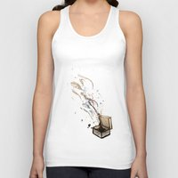 chaos Tank Tops featuring Chaos. by Bezmo Designs