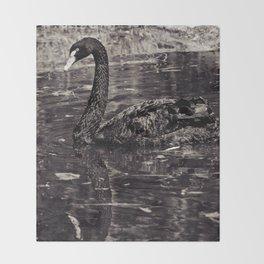 The Black Swan Throw Blanket