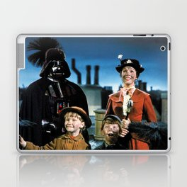 Darth Vader in Mary Poppins Laptop & iPad Skin