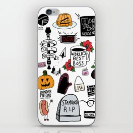 The Office doodles iPhone Skin