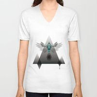 soul V-neck T-shirts featuring soul by voskovski