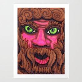 Forrest Grump - Mazuir Ross Art Print