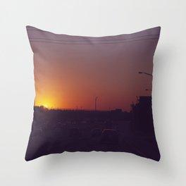 Route 80 Throw Pillow