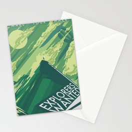 Explorers Wanted 3 Stationery Cards