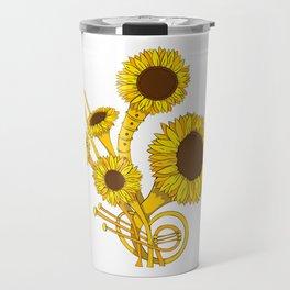 Sunflower Orchestra Travel Mug