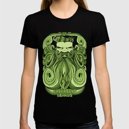 Bodacious Beard - Green T-shirt