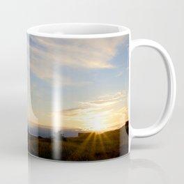 Watercolor Sunset, Iceland 04 Coffee Mug