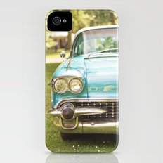 Vintage car iPhone (4, 4s) Slim Case