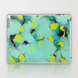 Marble green Laptop & iPad Skin