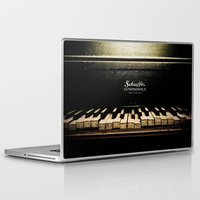 piano Laptop & iPad Skins featuring Piano by eden frangipane