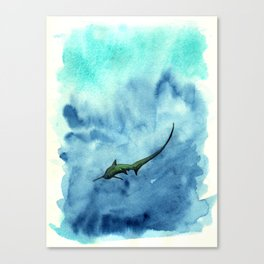 Thresher Shark Canvas Print