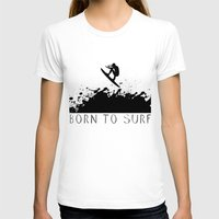 surfer T-shirts featuring Surfer by Emir Simsek