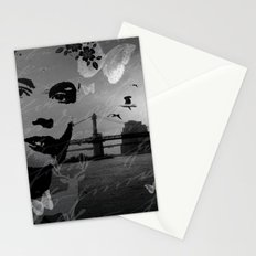 City in nature Stationery Cards