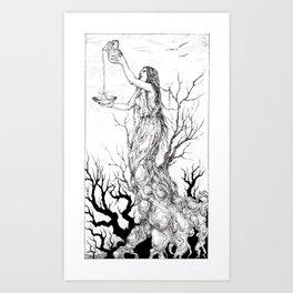 Tarot - Temperance Art Print