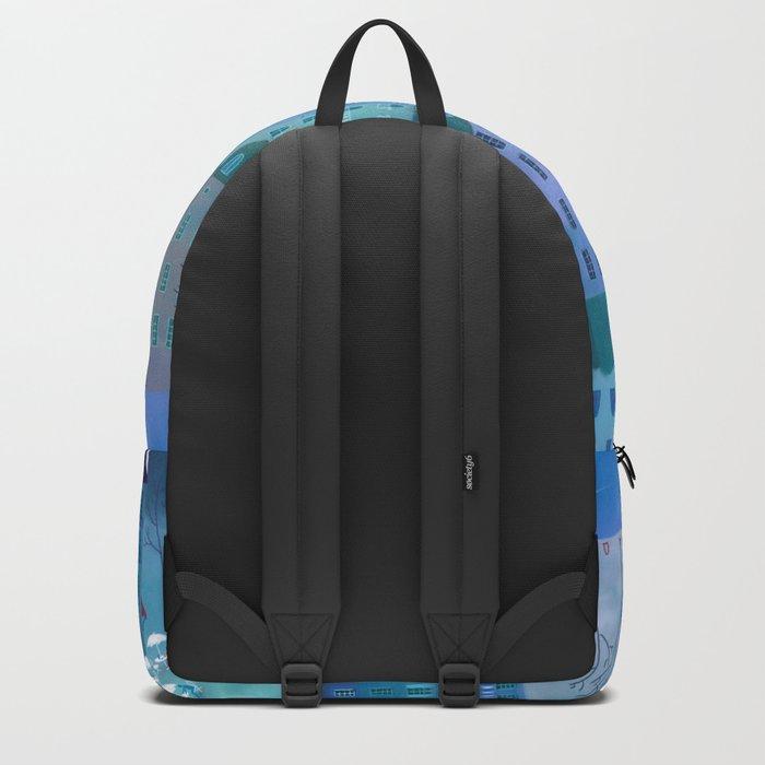Paris Blues Backpack