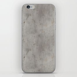 Dirty Bare Concrete iPhone Skin