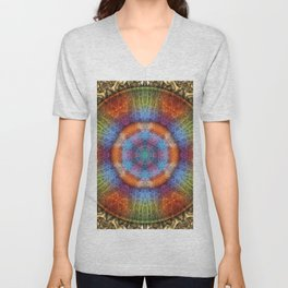 Shall We Gather At the River? Unisex V-Neck