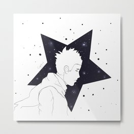 Star Man Metal Print