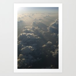 Above The Clouds No.4 Art Print