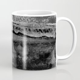 layers in grayscale Coffee Mug