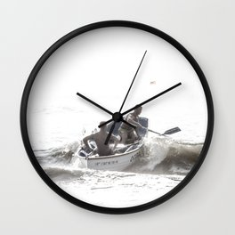 Wave riders Wall Clock