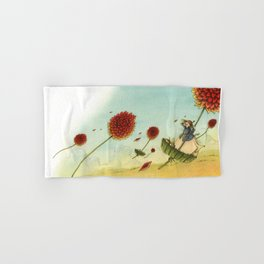 Seeds In The Wind Hand & Bath Towel