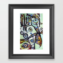The Finch Framed Art Print