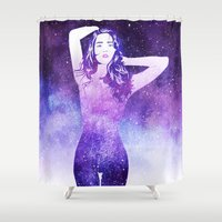 return Shower Curtains featuring Return To Me by Stevyn Llewellyn