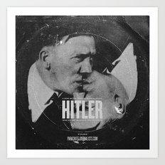 Parachute Journalists - Hitler Art Print