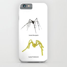Louise Bourgeois/Louise Proletariat iPhone Case