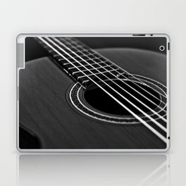La guitarra Laptop & iPad Skin