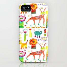 Animal Garden iPhone Case