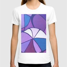 Purple Sections T-shirt