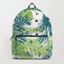 Ferns and Dots Backpack
