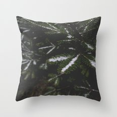 Firs. Throw Pillow