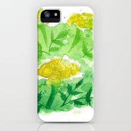 Marigold - Yellow iPhone Case