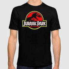 JurassicPark Mens Fitted Tee Black SMALL