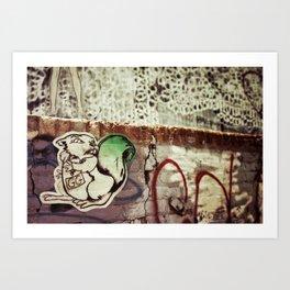 {GG} Art Print