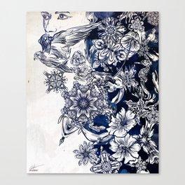 Settle Canvas Print